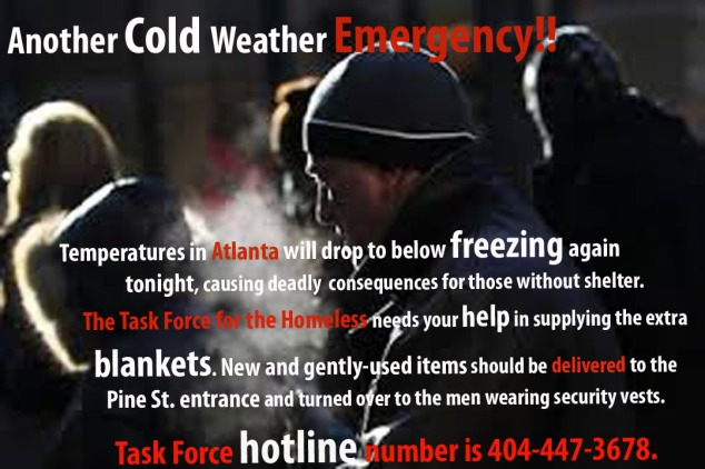 Another Cold  Weather Emergency 2014
