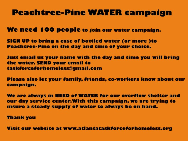 water campaign