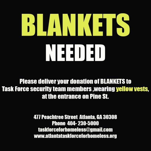 Blankets Needed--2014